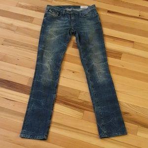 Diesel LIVY-BIKER Jeans